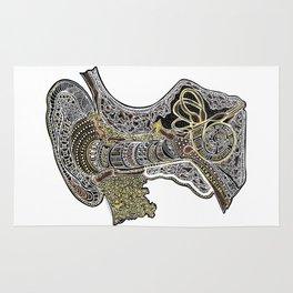 Inner Ear Canal Rug