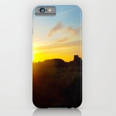 Winter sunset in Bamburgh iPhone 6s Slim Case