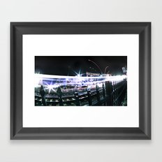 Sprint Framed Art Print