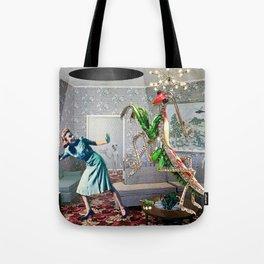 Mantis Encounter Tote Bag