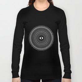 Music mandala no 2 - inverted Long Sleeve T-shirt