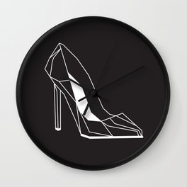 raya goods : stiletto architecture Wall Clock