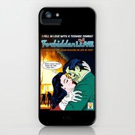 Forbidden Love iPhone Case