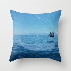 Old Man and the Sea Throw Pillow