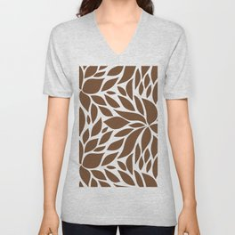 Bloom - Caramel Unisex V-Neck