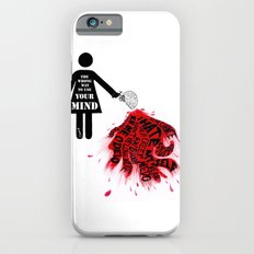 The wrong way to use your mind iPhone 6s Slim Case