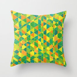 Intersections Throw Pillow