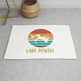 Lake Powell  TShirt Wakeboarding Shirt Wakeboarder Gift Idea  Rug