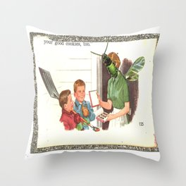 whiterush Throw Pillow