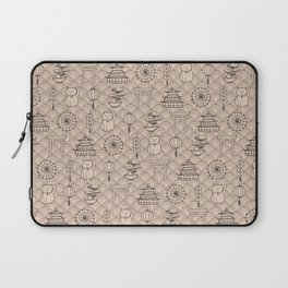Retro asian pattern Laptop Sleeve