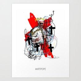 #ARTPOPE Art Print