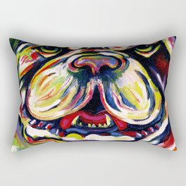 DOZER OLD ENGLISH BULLDOG Rectangular Pillow