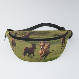 Galloping Mustangs 7 Fanny Pack