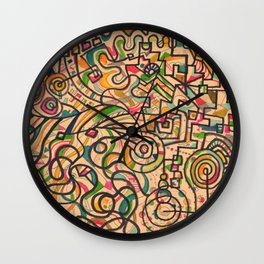 merry-go-round Wall Clock
