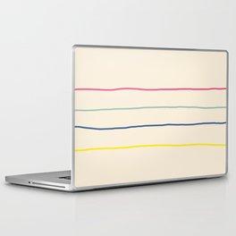 Abstract Retro Lines #1 Laptop & iPad Skin