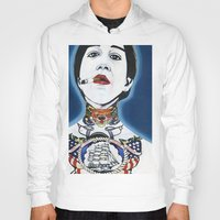 lydia martin Hoodies featuring Lydia by Skull Car Steveo