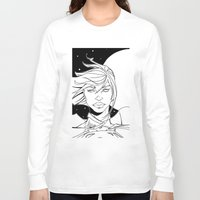 supergirl Long Sleeve T-shirts featuring New 52 Supergirl by Jeremy Gonzalez