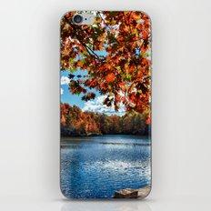 Fall Day at the Lake iPhone & iPod Skin