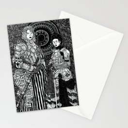 Warrior Maidens 2 Stationery Cards