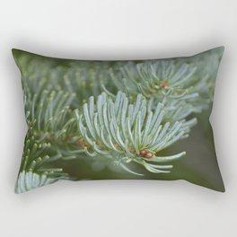 Holiday Evergreens Rectangular Pillow