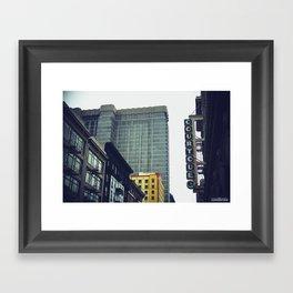 The City, San Francisco Framed Art Print