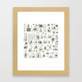Terrariums Framed Art Print