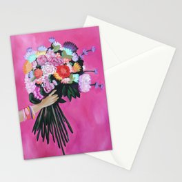 Rainbow Posy Stationery Cards