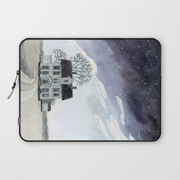House under the Starry Skies Laptop Sleeve