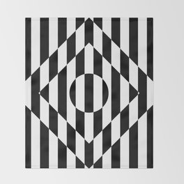 Hot Spot Rhombus Throw Blanket