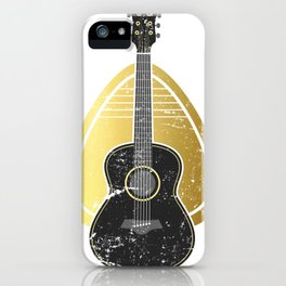 Mediator Bass Guitar iPhone Case
