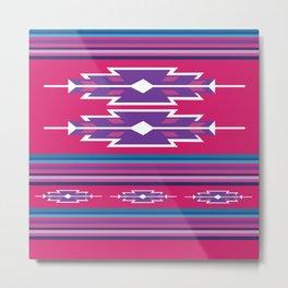American Native Pattern No. 143 Metal Print