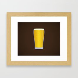 Lager Framed Art Print