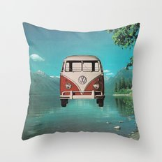 Car Ma Ged Don Too Throw Pillow
