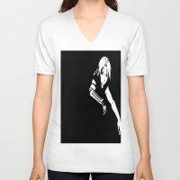 fullmetal V-neck T-shirts featuring FullMetal Alchemist- Edward Elric by Ren Flexx