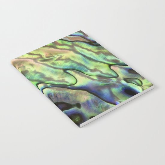 Sea Shell Texture Notebook