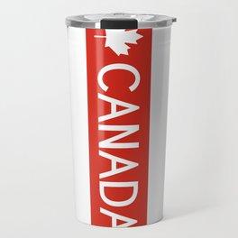 Canada: Maple Leaf Travel Mug