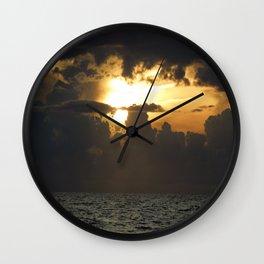 Darkening Wall Clock