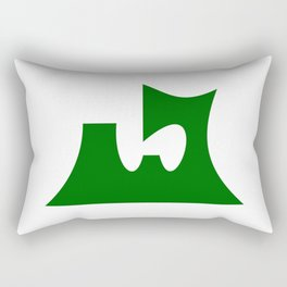 aomori region flag japan prefecture Rectangular Pillow