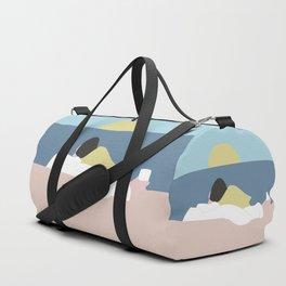 Feelings into sunset Duffle Bag