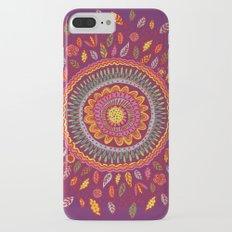 Leafy Fall Mandala Slim Case iPhone 7 Plus