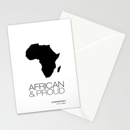 African & Proud Stationery Cards