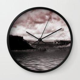 Portencross Jetty Wall Clock