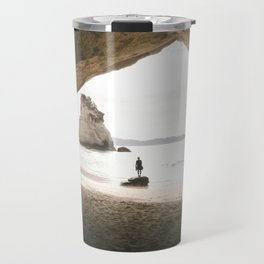 Cathedral Cove Travel Mug