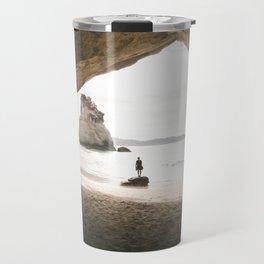 Cathedral Cove Travel Mug