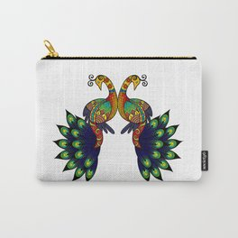 Coy peacock Carry-All Pouch