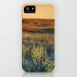 Kansas landscape iPhone Case
