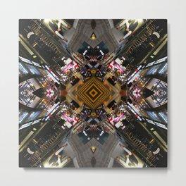 Hong Kong Kaleidoscope 05 Metal Print