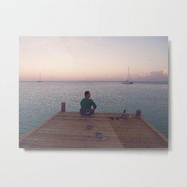 Morning at Palm Beach, Aruba - IV Metal Print