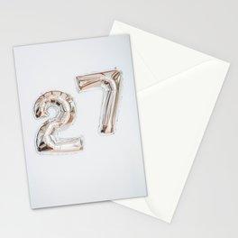 27 Stationery Cards