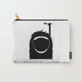 """""""I know how to brush my teeth"""" Monster Carry-All Pouch"""